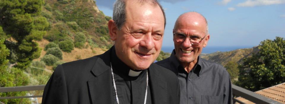 Bella foto Vescovo Oliva e Fratel Cosimo